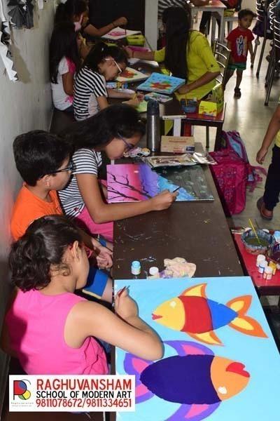 drawing for kids by raghvuansham in kirti nagar